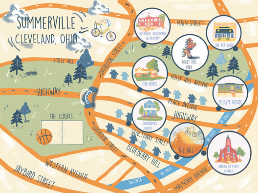 Summerville Map