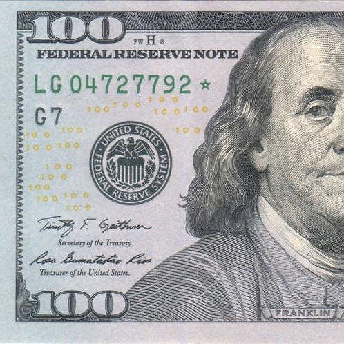$100 Tip