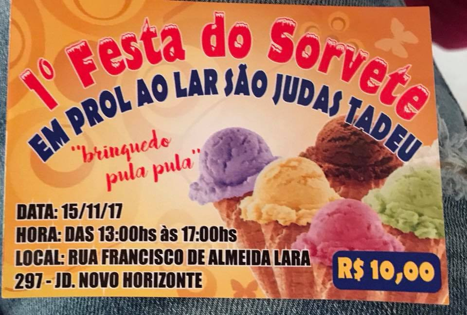 1º Festa do Sorvete