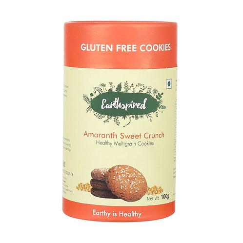 Earthspired Amaranth Sweet Crunch cookies 100gm