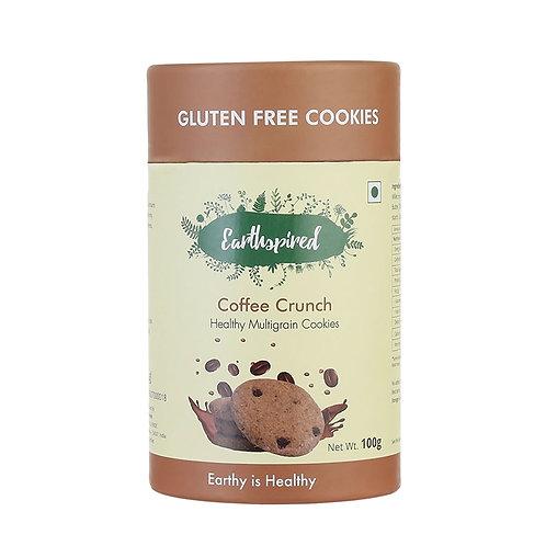 Earthspired Coffee Crunch Cookies 100gm