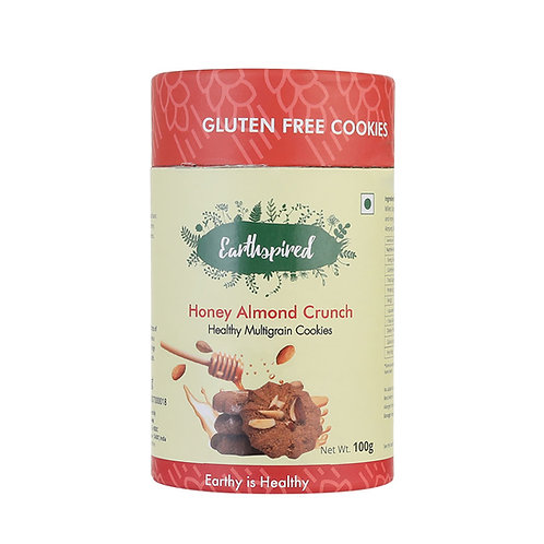 Earthspired Honey Almond Crunch Cookies 100gm