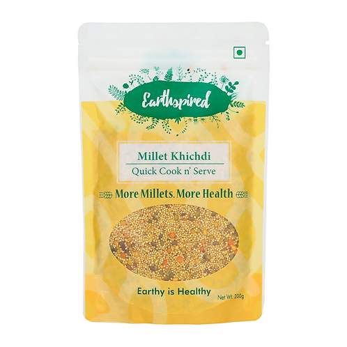 Earthspired Quick Cook n'Serve Millet Khichdi - 200gm