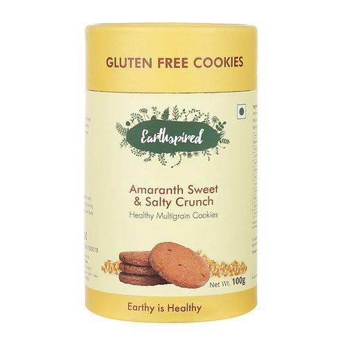Earthspired Amaranth Sweet & Salty Crunch Cookies 100gm
