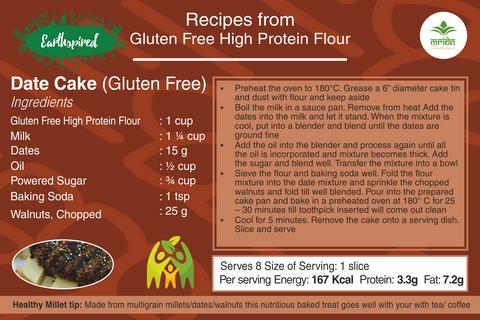 Earthspired Gluten Free Date Cake