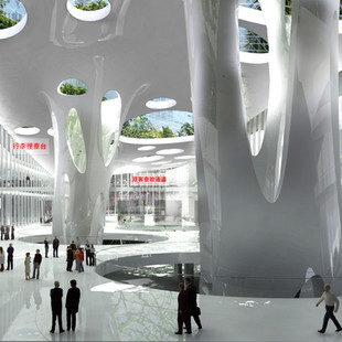 LIANTANG-HEUNG YUEN WAI, BOUNDARY CONTROL POINT PASSENGER TERMINAL BUILDING (BCP)  INTERNATIONAL  COMPETITION ENTRY