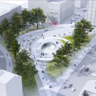 AWARDED '2nd RUNNER UP' IN RETHINK ATHENS COMPETITION