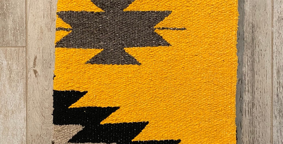 Golden Mountain Sister // Tribal Heavyweight Blanket
