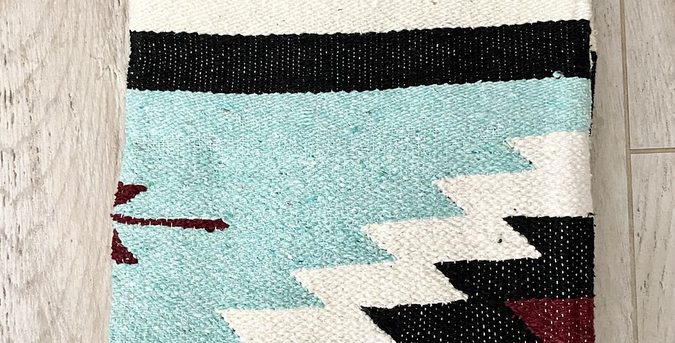 Rusted Mint // Heavyweight Tribal Blanket