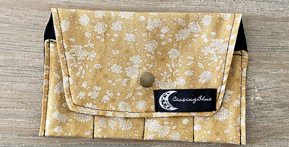 Essential Oil Roller Bag // Yellow
