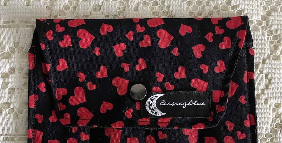 Essential Oil Roller Bag // Heart