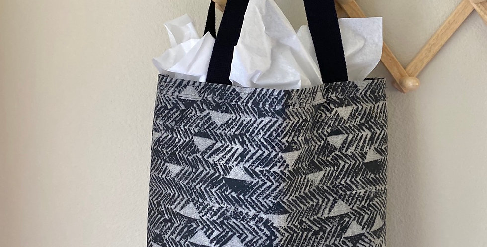 Tote // Gray Tribal