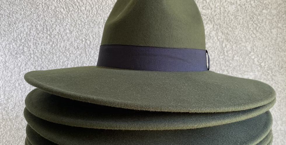 Fedora Hat // Green