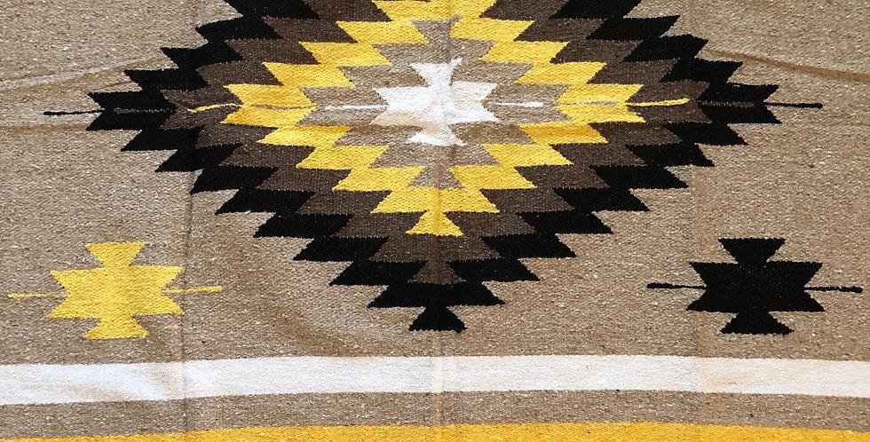 Golden Mountain // Tribal Heavyweight Blanket