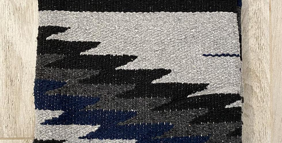 Blue Moon // Tribal Heavyweight Blanket