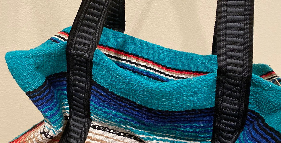 Weekender Bag // Aqua