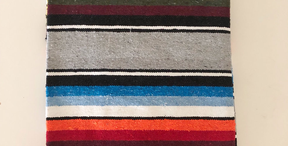 Deep Silvermist // Saltillo Blanket