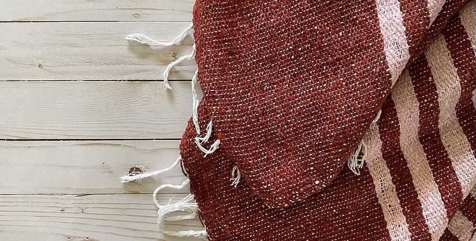 Cranberry Bliss // Lightweight Blanket
