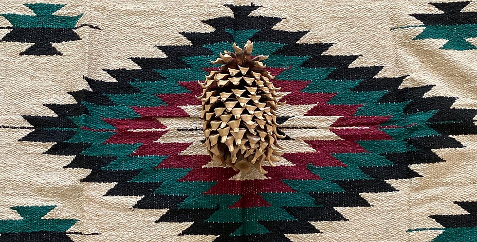 Cranberry Pine // Tribal Heavyweight Blanket