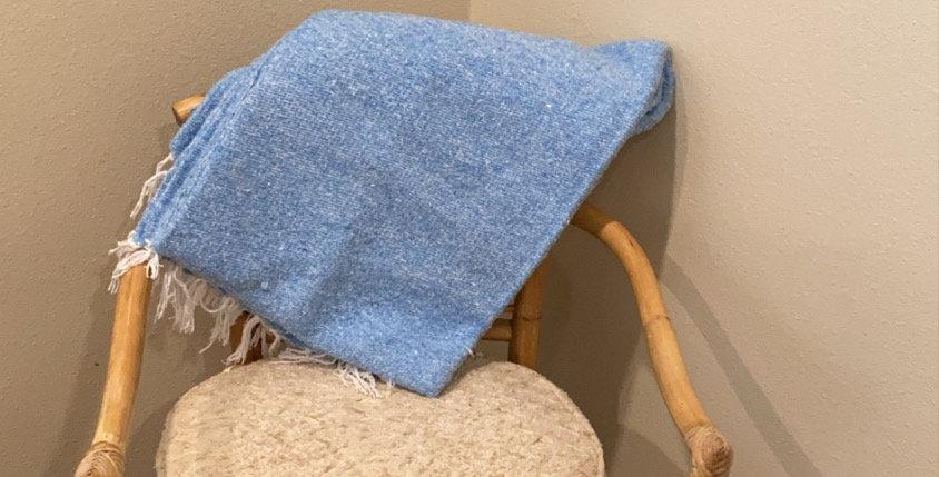 Baby Blue // Heavyweight Blanket