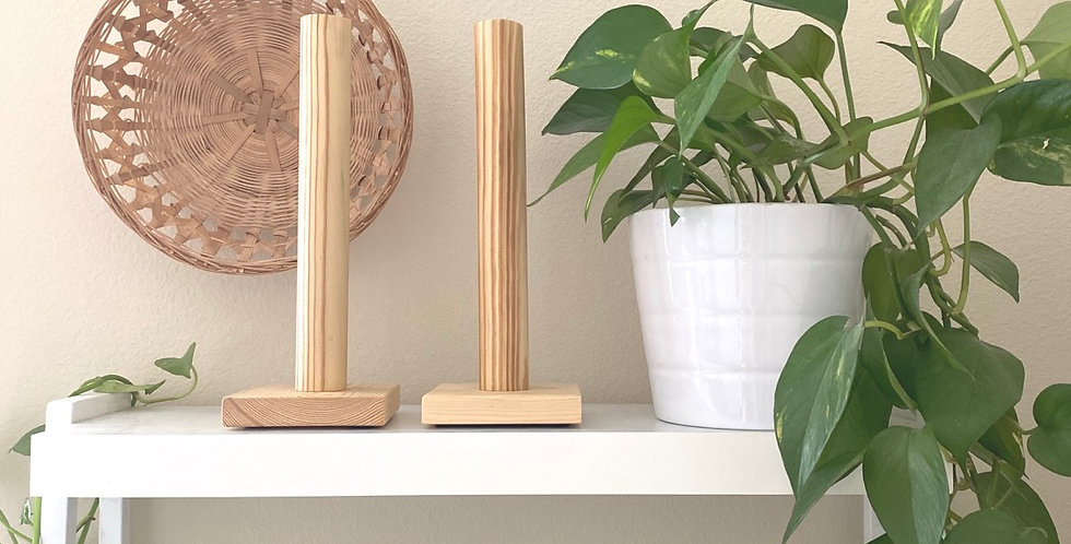 Scrunchie Stand // Natural Stain