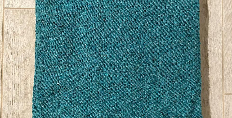 Deep Aqua // Heavyweight Blanket