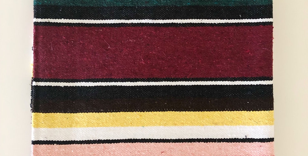 Burgundy Shadow // Saltillo Blanket