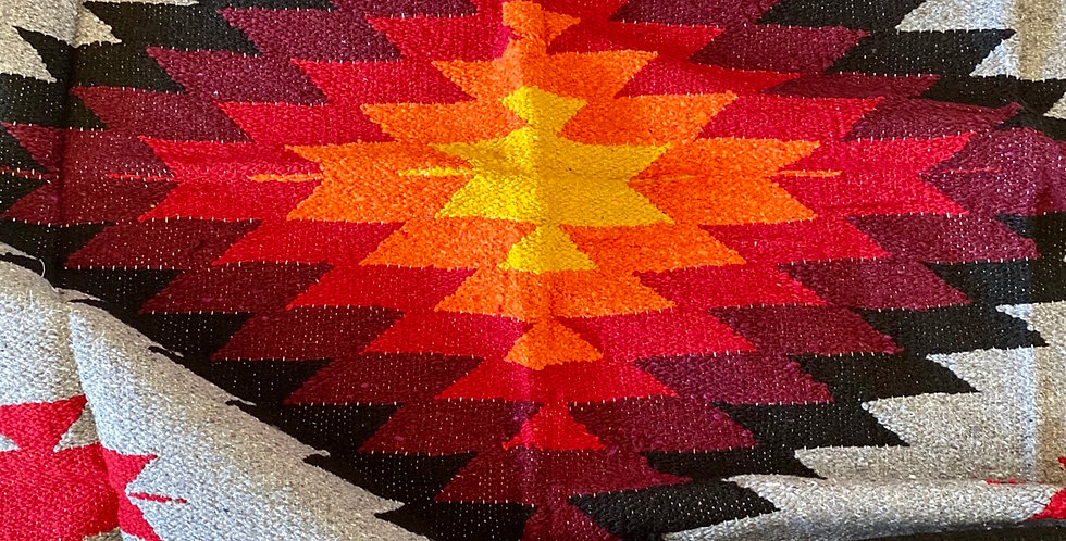 Shadowed Rainbow Bright // Tribal Heavyweight Blanket