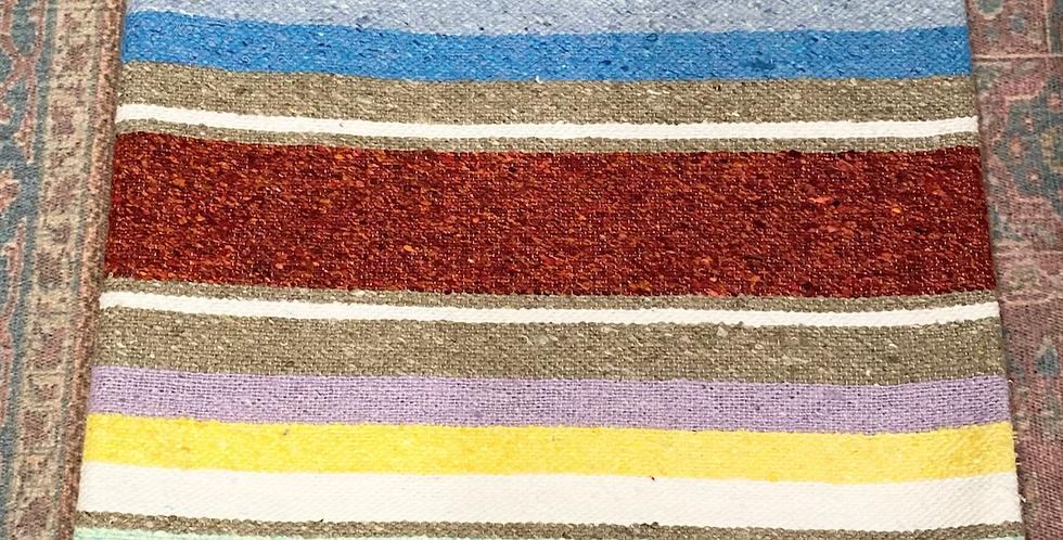 Rusted Rainbow Sister // Saltillo Blanket