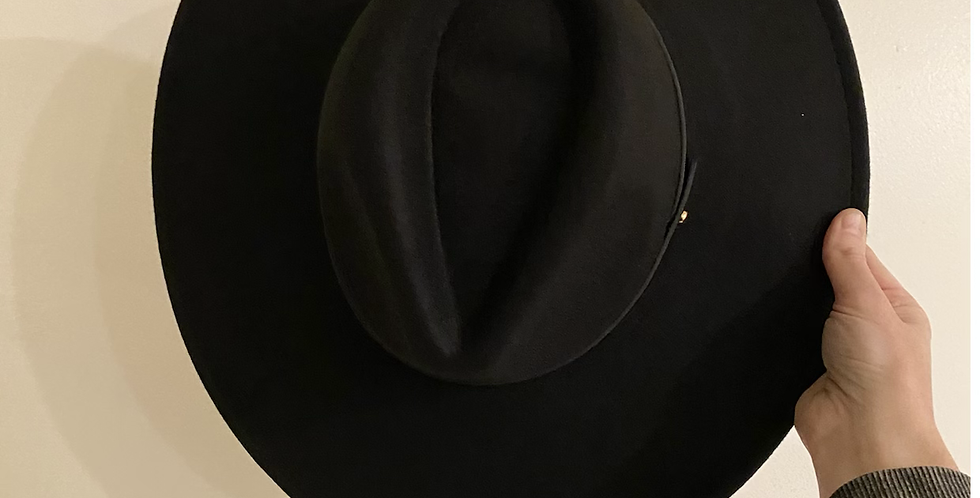 Fedora Hat // Black