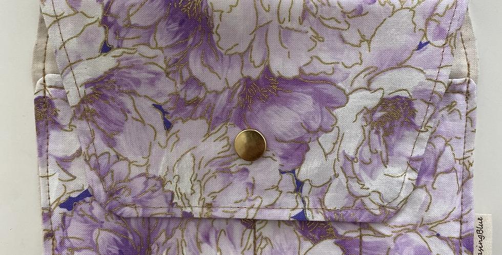 Essential Oil Roller Bag // Purple