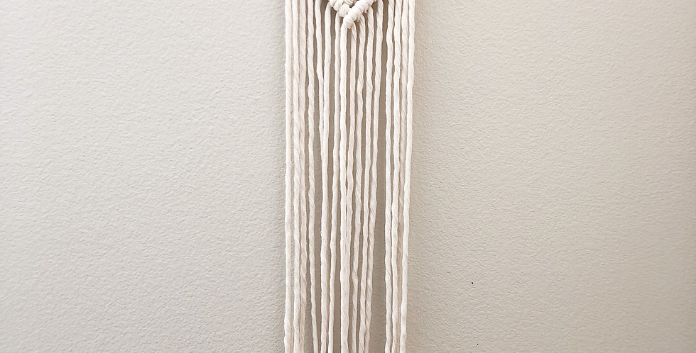 Natural Macrame Wall Hanging // Medium