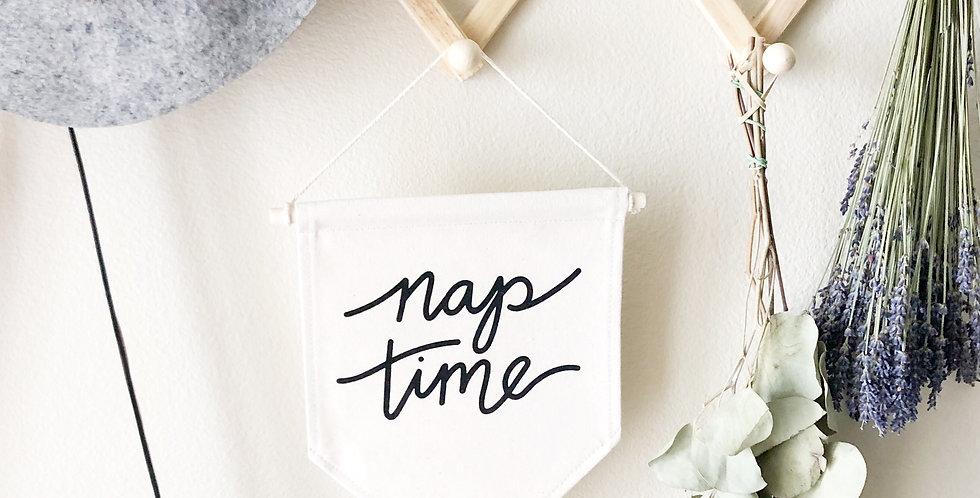 Canvas Banner // Nap time