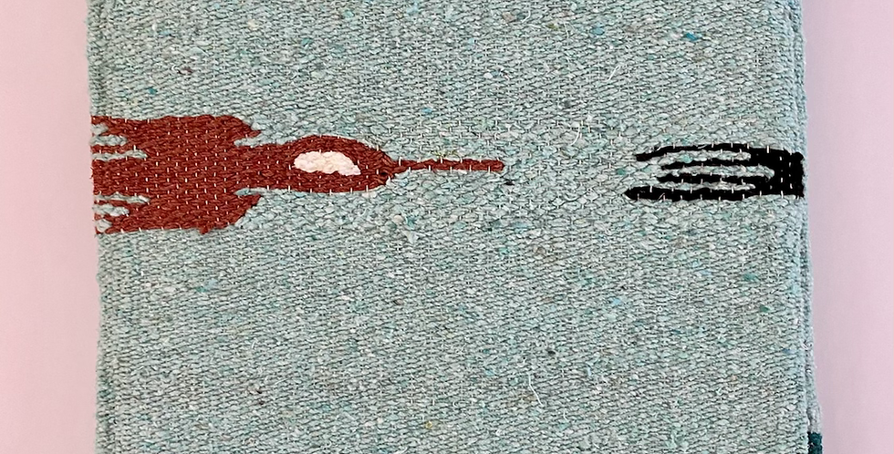 Mint Thunderbird // Heavyweight Blanket