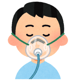在宅酸素の管理