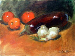 eggplant w/ tomatoes