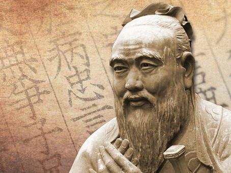 Confucius - Tous les hommes pensent que le bonheur...