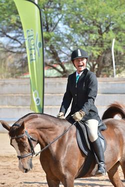 Hendri Egyptian Pearl & Ingeborg Hernes in Novice Riding Horse 03
