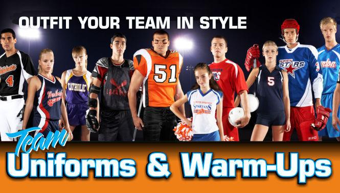 Team Uniforms and Warm-ups