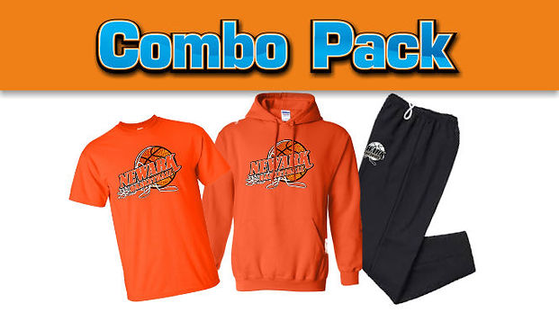 Team T-shirt Hoodie and Sweatpants package