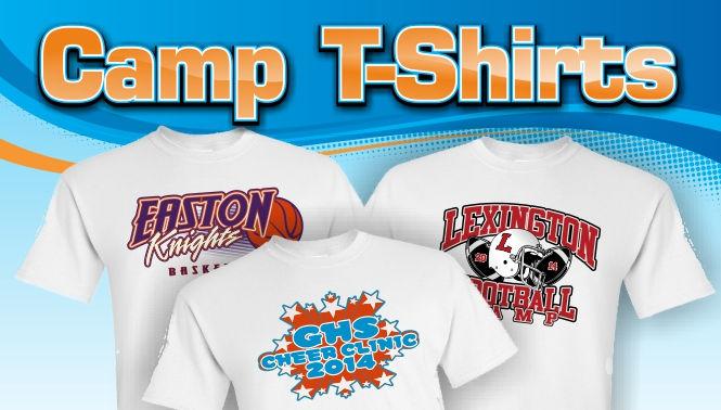 Team Camp T-shirts