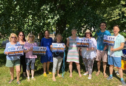 NHSC Picnic and Protest