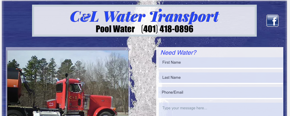 Pool Water Delivery Service | C&L Water Transport | Rhode Island