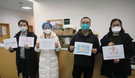 Doctors Receiving BEST's Donated Masks/Supplies