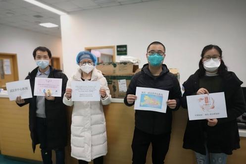 Wuhan Doctors Receiving BEST's Donated Masks