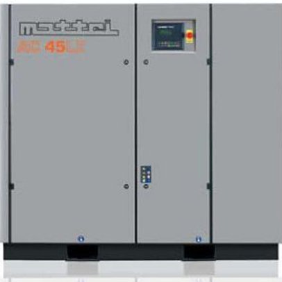 AC 45 LWX 60HP MAttei Air Compressor   Rated 328.5 CFM @ 115 PSIG
