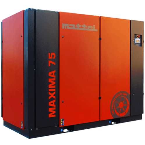 Maxima 75X 100 HP Mattei Air Compressor Rated 611 CFM @ 115 PSIG