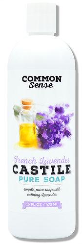 French Lavender Castile- 16 oz