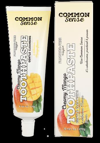 Creamy Mango Toothpaste
