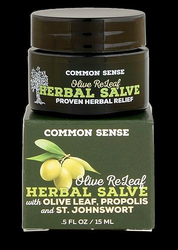 Olive ReLeaf Herbal Salve